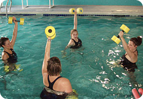swimtastic water fitness and aqua pilates