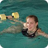 adult aqua pilates and water fitness