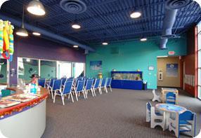 Swimtastic Swim School offers a comfortable swim environment
