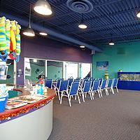 Swim Lessons Observation Room