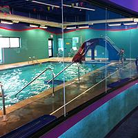 Swimtastic Observation Room View