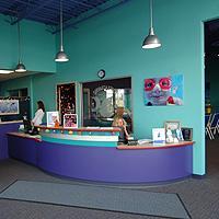 Entrance at Swimtastic