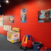 Parents and Kids enjoy our observation room
