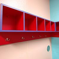 Changing Rooms at Swimtastic Swim School