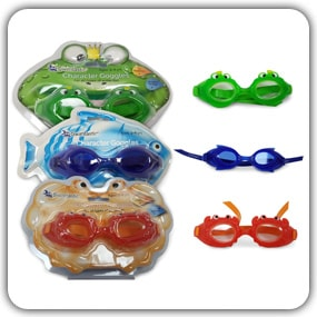 Kids Swimming Goggles For Boys & Girls - Comfortable & Fun Goggles By Swimtastic!