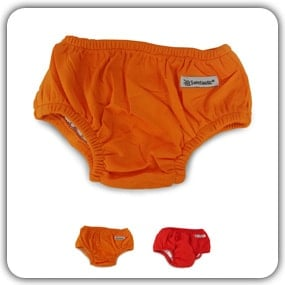 Swimtastic Baby Swim Diapers - Save Money With Reusable Infant Diaper Trunks